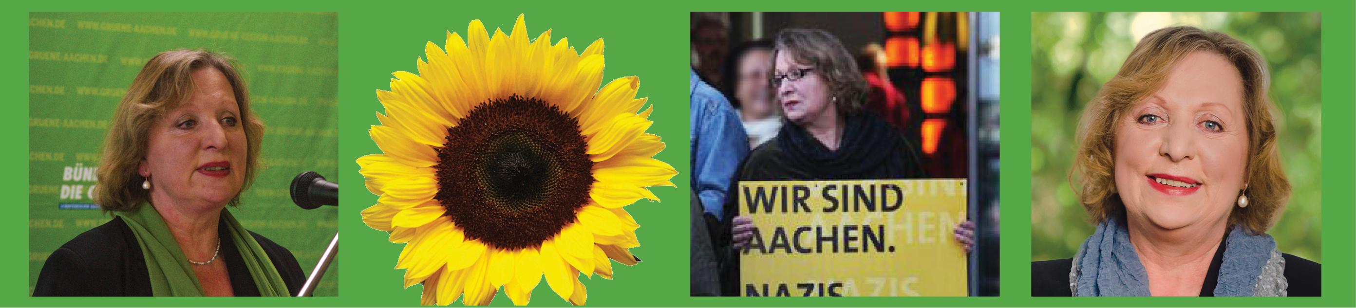 die GRÜNE Bürgermeisterin in Aachen